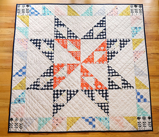 Giant Block Quilt Free Tutorial