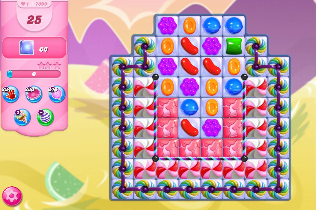 Candy Crush Saga level 7699