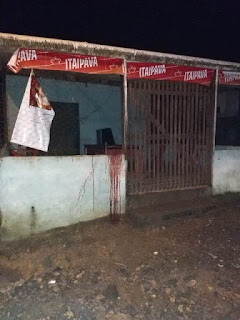Polícia Militar prende homem que esfaqueou um casal em Iguape por não vender cerveja fiado