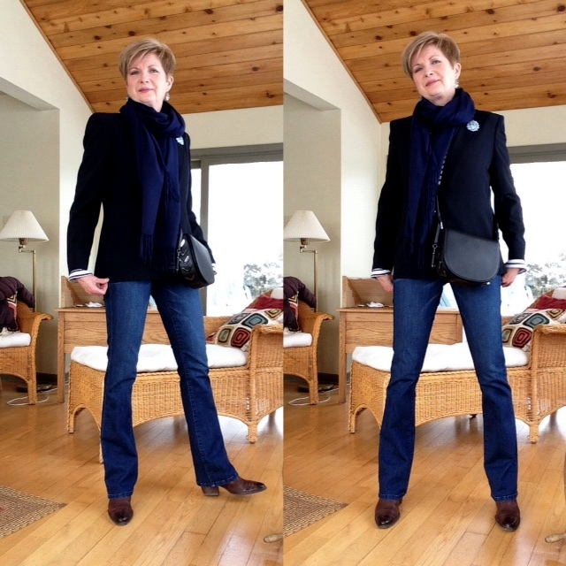 This old suit: updating my old Max Mara suit jacket