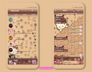 Hello Kitty Theme For YOWhatsApp & Fouad WhatsApp By Kawaii