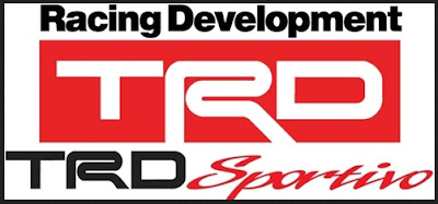 TRD Toyota Racing Development Sportivo Emblem