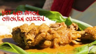 HOT AND SPICY CHICKEN CURRY IN VILLAGE STYLE | VILLAGE FOOD