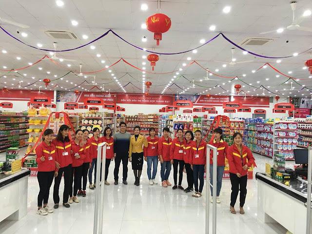 Dịch vụ thiết kế siêu thị mini và đơn vị thi công ISAAC