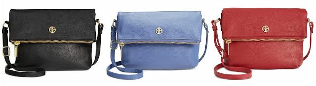 Giani Bernini Pebble Leather Crossbody Bag $44 (reg $90)