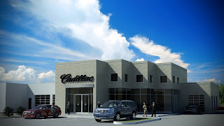 NewSouth Architects Projects and News: New Cadillac Dealership