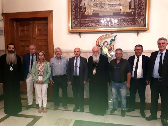 Συναντήσεις των Συντονιστών των Αποκεντρωμένων Διοικήσεων με Ιερώνυμο και Μητσοτάκη