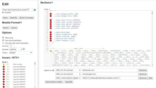 إنشاء ستايل CSS خاص بك في Stylish