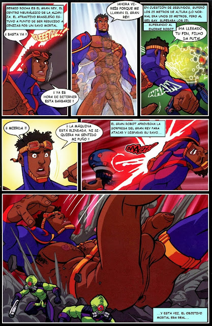 Hypno Buttplug Superhero Gay Porn