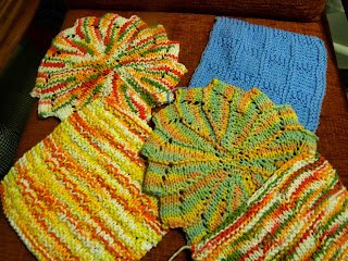 Dishcloth / Mug Rug Swap 2016