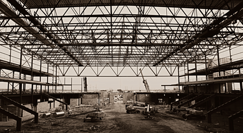 Canalta Centre construction Medicine Hat Alberta