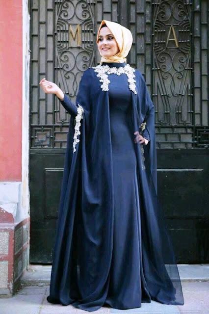 Inspirasi Gaun Muslimah Cantik dan Trendy 2001624