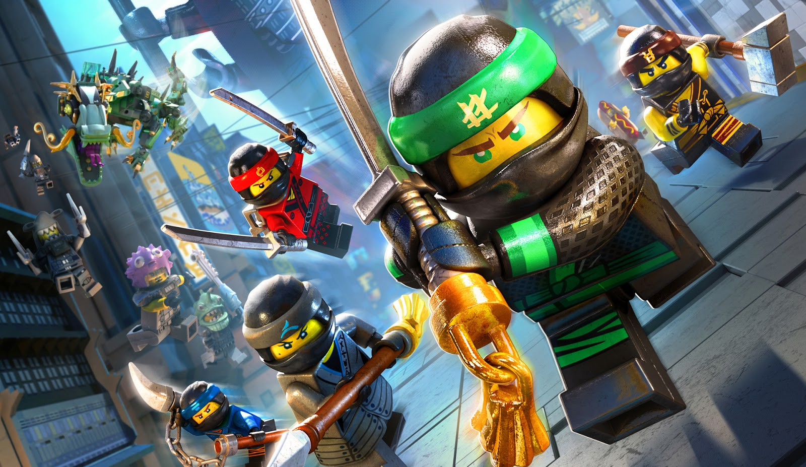 Infinite Earths  The LEGO Ninjago Movie Is A Chip Off The Old Brick With the release of The LEGO Ninjago Movie this past Fall  the  family friendly franchise expanded yet again  This time  we venture to the  city of Ninjago