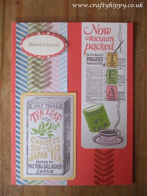 Tea for Two - Stampin' Up! paper
