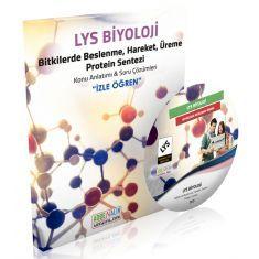 Adrenalin DVD İzle Öğren LYS Biyoloji Bitkilerde Beslenme, Hareket, Üreme, Protein Sentezi