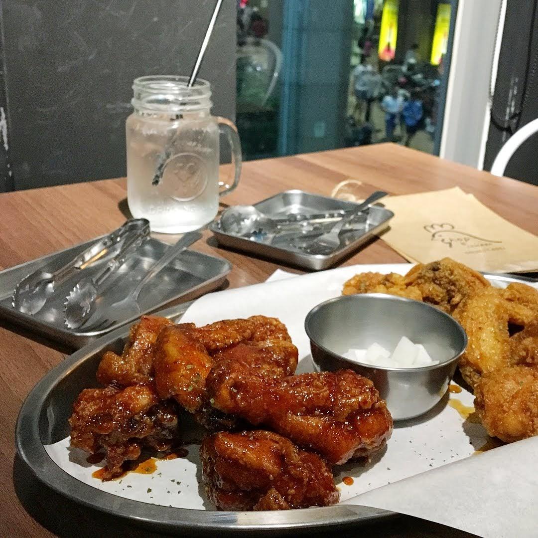 台南中西區美食韓國炸雞餐點