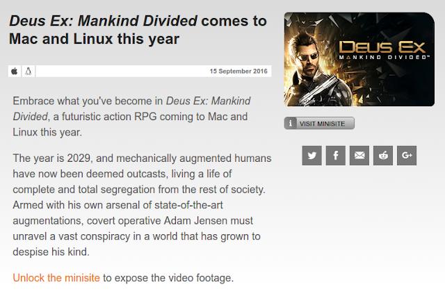 Deus Ex para Linux