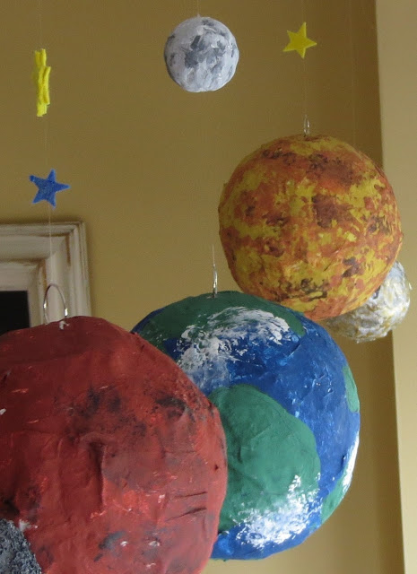 paper mache planets solar system-#8