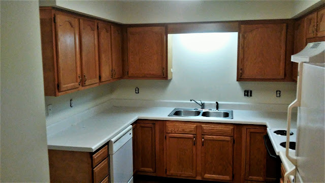 Kitchen Cabinet Refinishing Before After Click To View