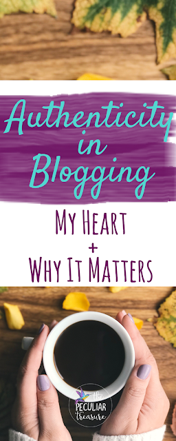 Why having integrity and authenticity in blogging is extremely important.