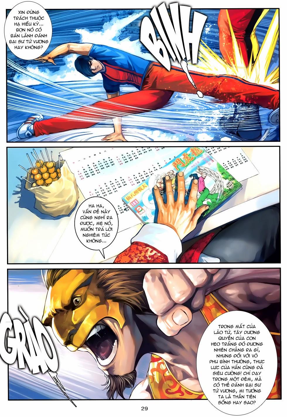 Quyền Đạo chapter 9 trang 29
