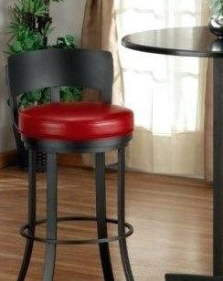 Red Made Bar Stools Only for You