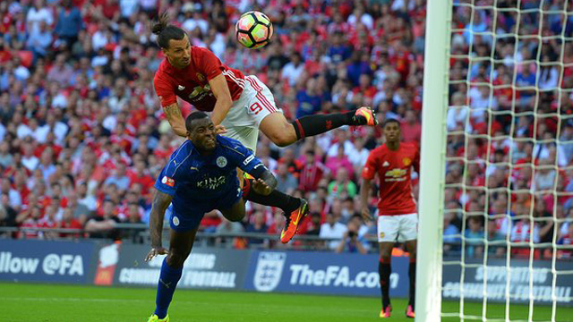 [Video] Cuplikan Gol Leicester 1-2 Manchester United (Community Shield)