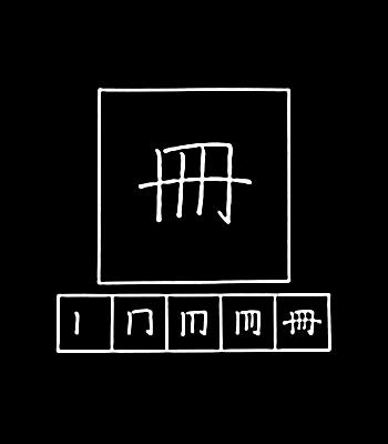 kanji counter for books