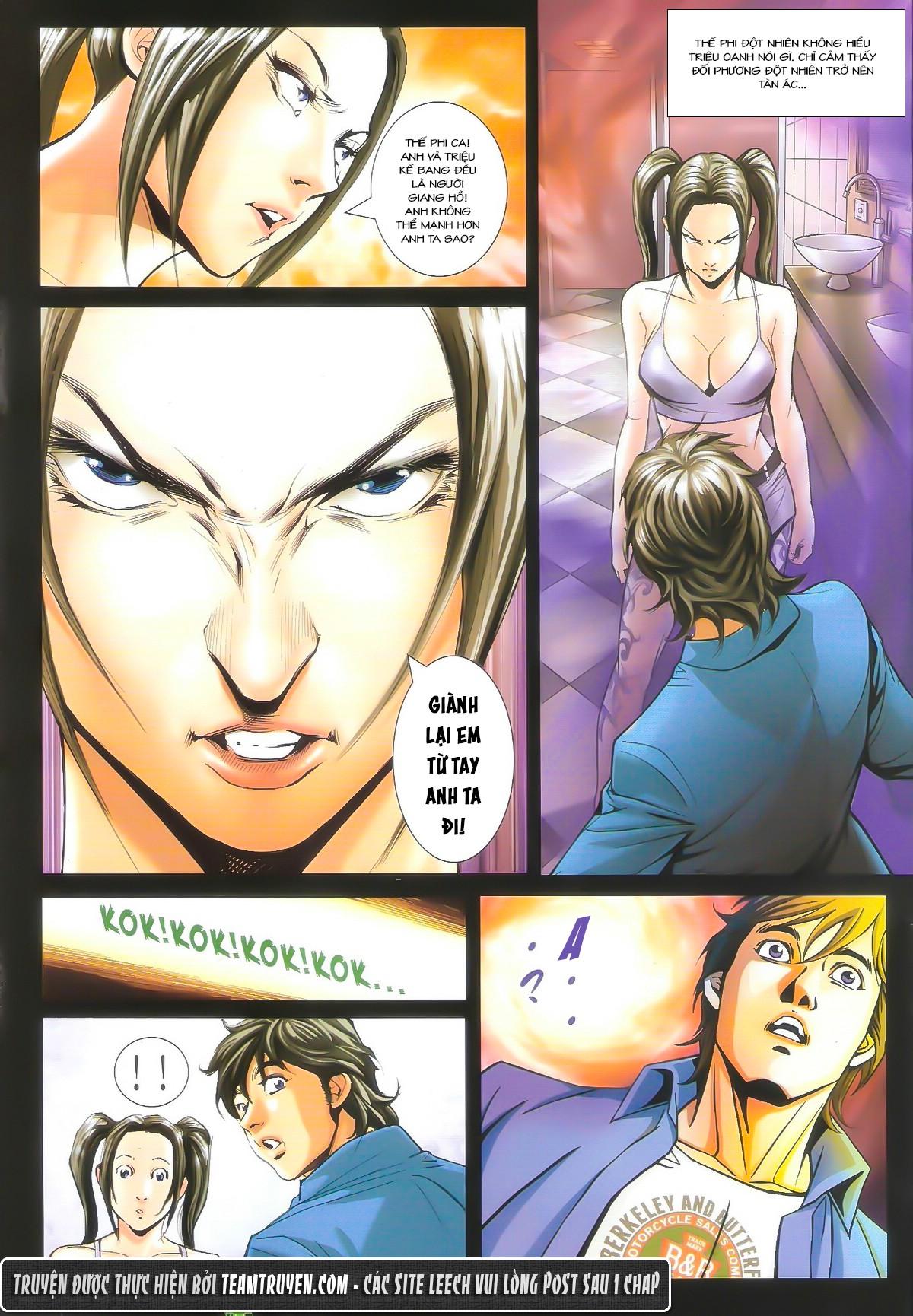 Người Trong Giang Hồ chapter 1604: hồng hưng vs trường lạc trang 24