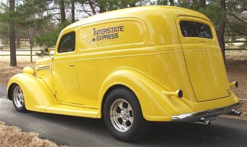 Street Rods For Sale: 1936 Plymouth Sedan Delivery Street