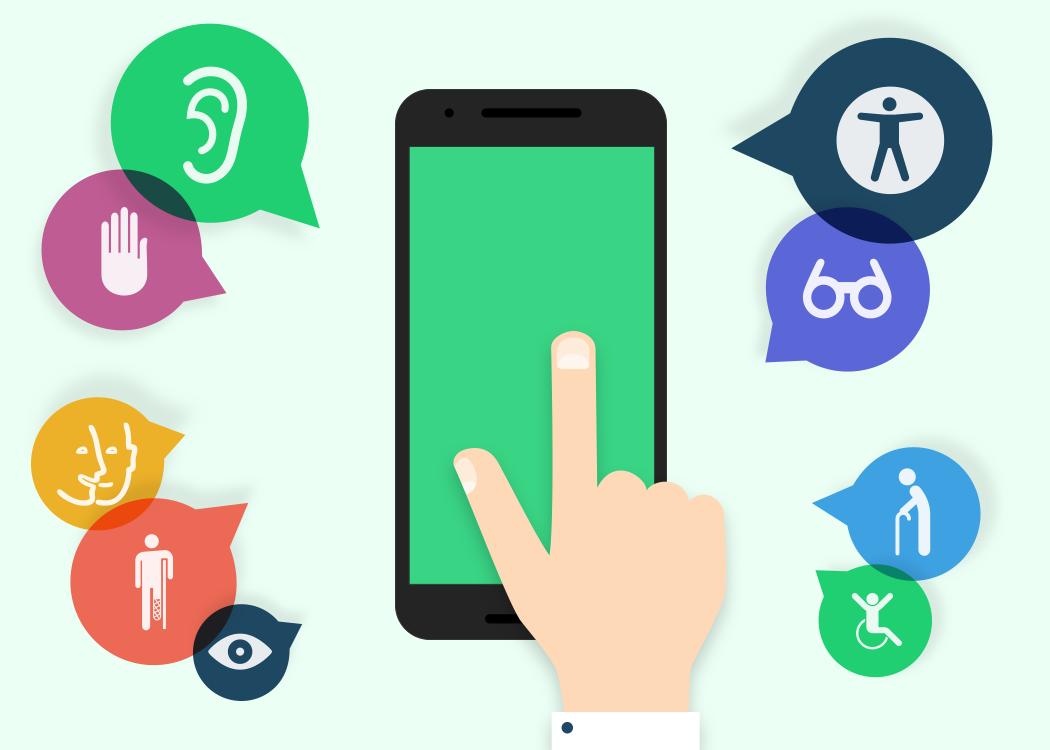 Crea y aprende con laura android accesible centro de for Que es accesibilidad