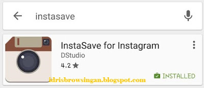 Cara Download dan Install InstaSave