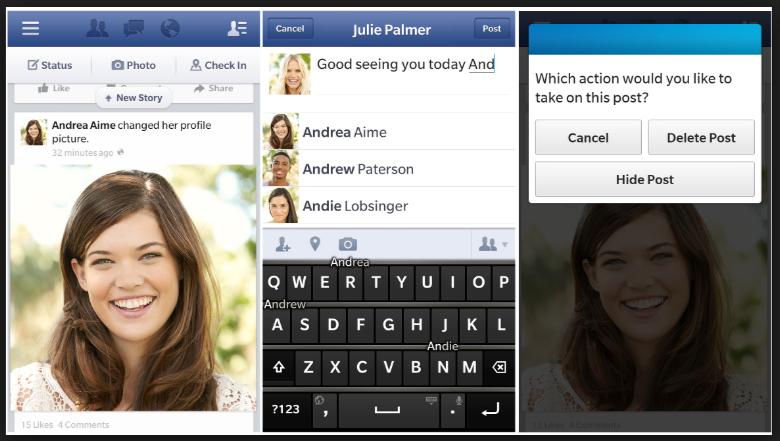 Download Aplikasi FB Facebook Blackberry Terbaru