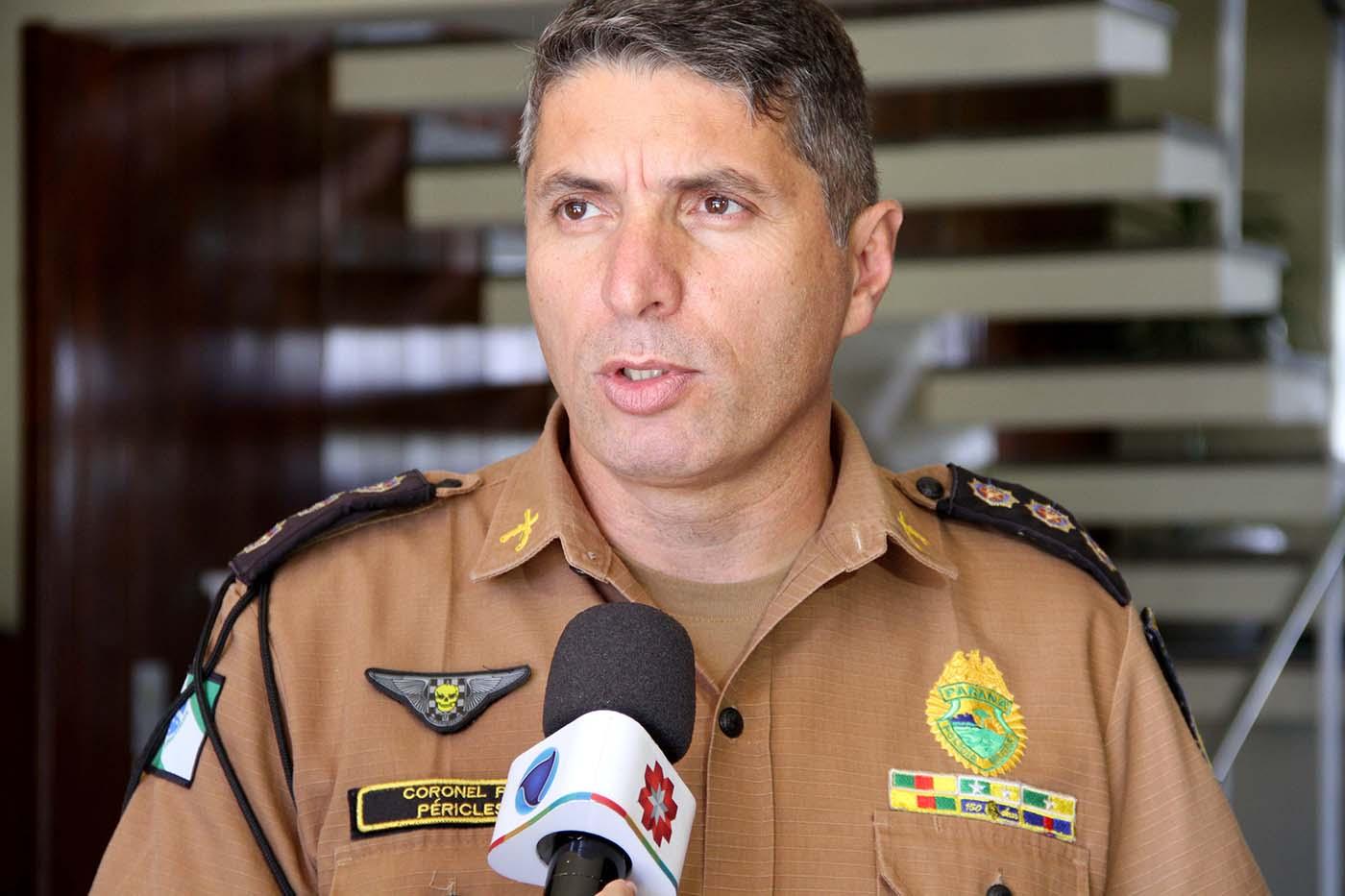 Comando da PMPR confirma novamente 2400 vagas em entrevista à CBN