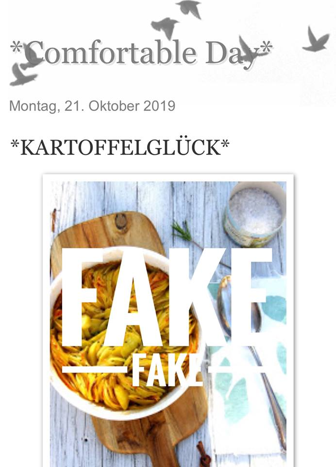 COMFORTABLE DAY IST EIN FAKE!!!
