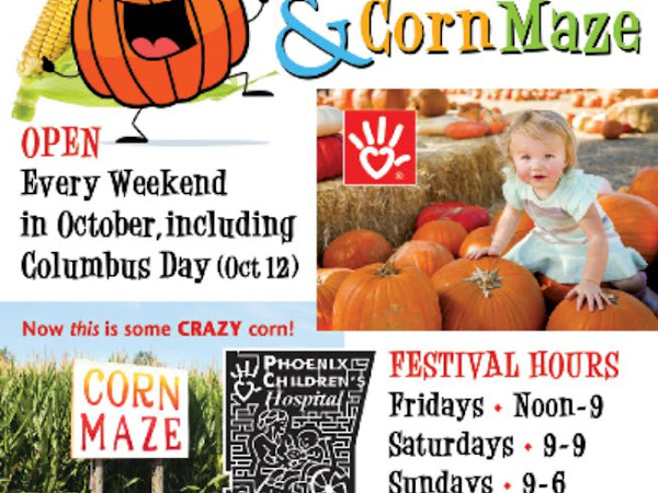Mortimer Farms' PumpkinFest & Corn Maze- Dewey Arizona