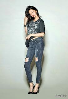 Gunakan reped jeans untuk cewek bertubuh pendek