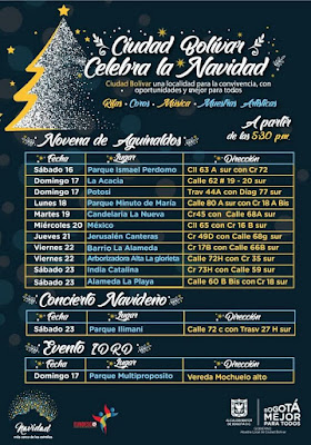 CIUDAD BOLIVAR: Celebra la Navidad