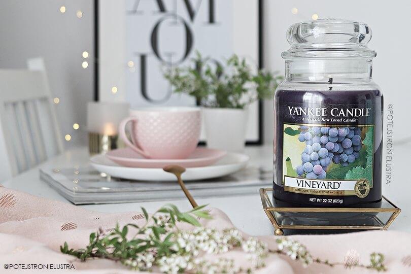 świeca zapachowa yankee candle vineyard