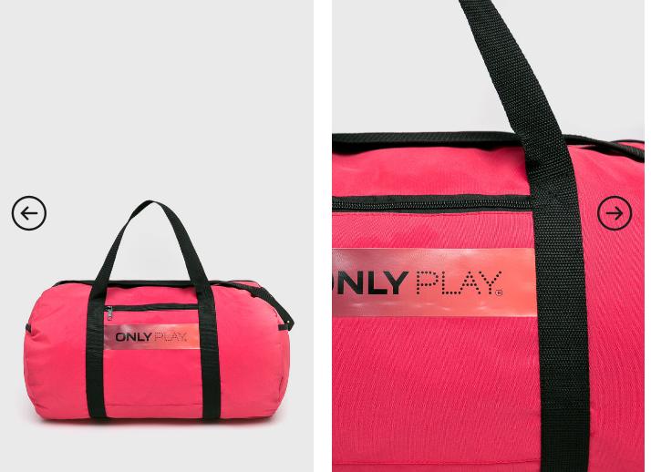 Only Play - Geanta roz de sala ieftina