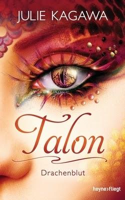 Bücherblog. Rezension. Buchcover. Talon - Drachenblut (Band 4) von Julie Kagawa. Fantasy, Jugendbuch.