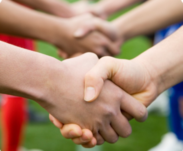 respect and sportsmanship You demonstrate good sportsmanship when you show respect for yourself, your teammates, and your opponents, for the coaches on both sides, and for the referees, judges, and other officials but sportsmanship isn't just reserved for the people on the field.