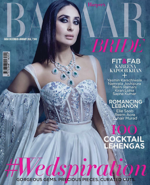 Kareena Kapoor Covers Harper's Bazaar Dec-Jan 2018 Issue
