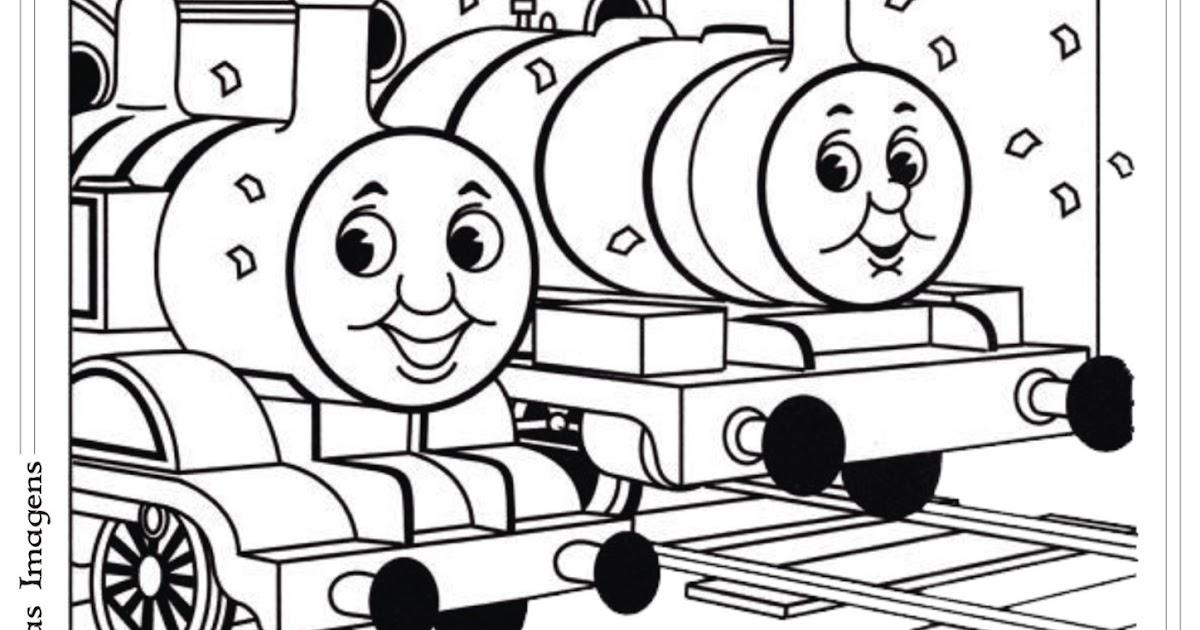 Desenho Do Thomas E Seus Amigos