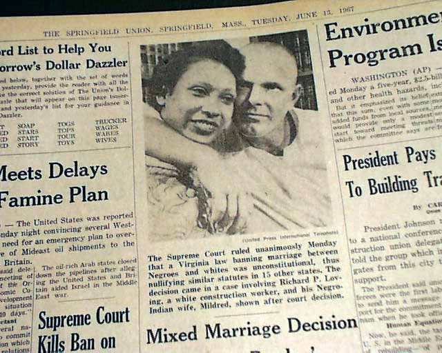 With you 1967 interracial law marriage overturned apologise