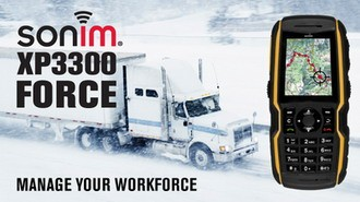 Sonim XP3300 Force is an ultra-rugged MRM-ready phone with the Longest Talk Time in the World