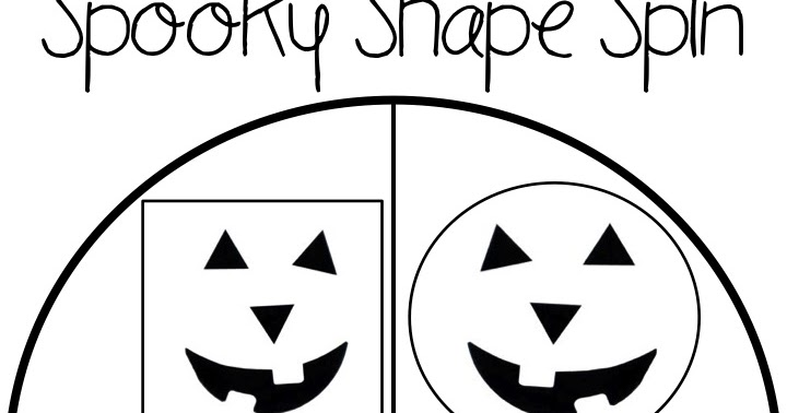 Tales of Frogs and Cupcakes: Spooky Shape Spin