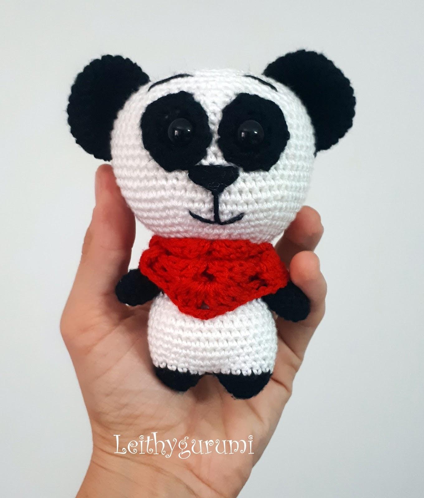 Amigurumi Panda Lavanta - El Yapımı Oyuncak, Örgü Oyuncak   1600x1361