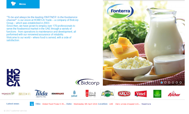 Leading Provider of Food Services in the UAE
