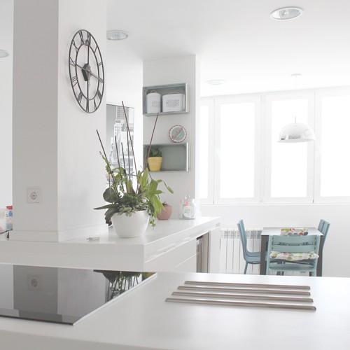 Hogar diez antes y despu s de una vivienda en madrid - Reformas hogar madrid ...